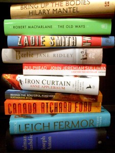 BOOKS OF THE YEAR 2012