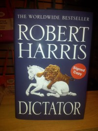 Robert Harris DICTATOR signed