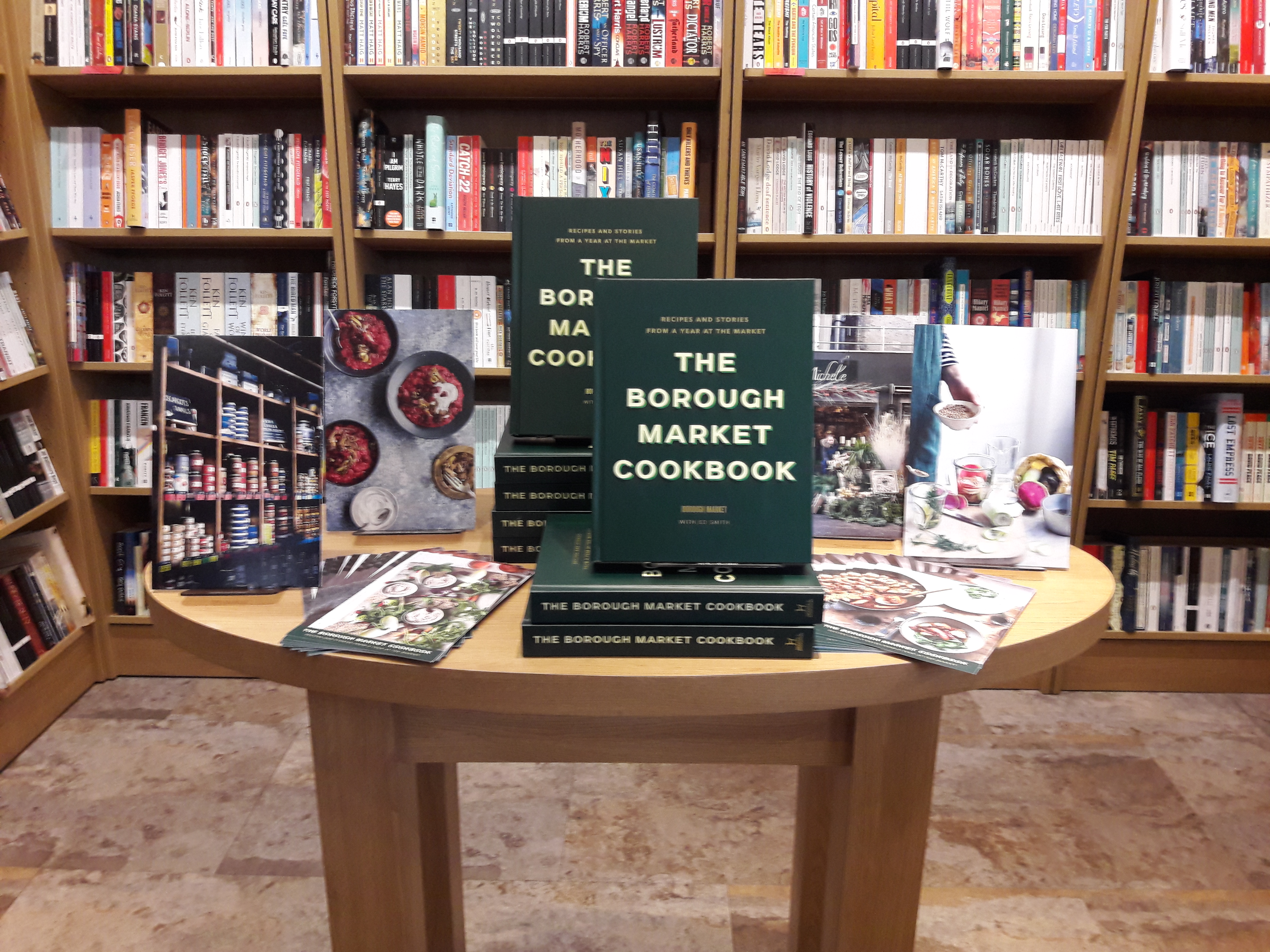 Borough Market Cookbook display