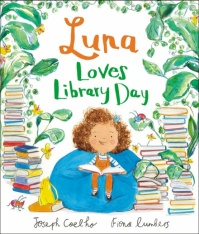 coelho and lumbers luna loves library day