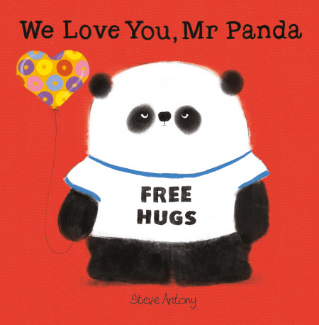 Steve Antony WE LOVE YOU MR PANDA