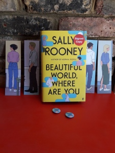 Sally Rooney book signed picture